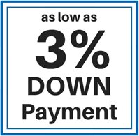 As low as 4%25 Down Payment